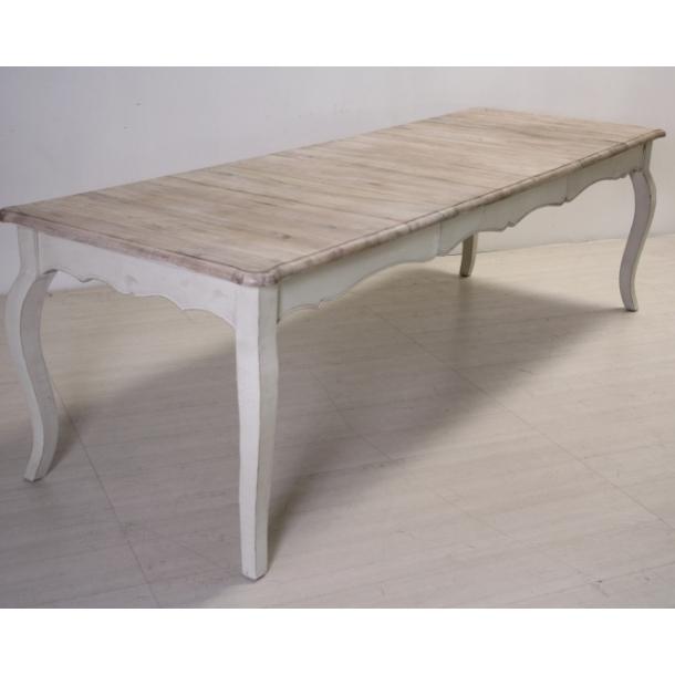 Tavolo bianco decapato shabby chic mobili provenzali on line - Tavolo shabby ...