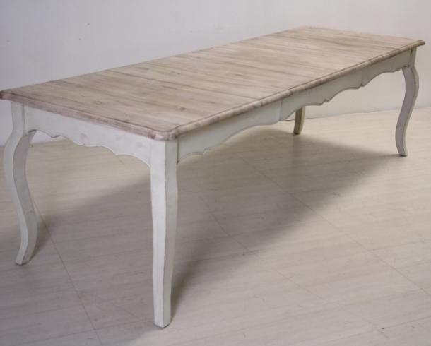 Tavolo bianco decapato shabby chic mobili provenzali on line - Siti mobili on line ...