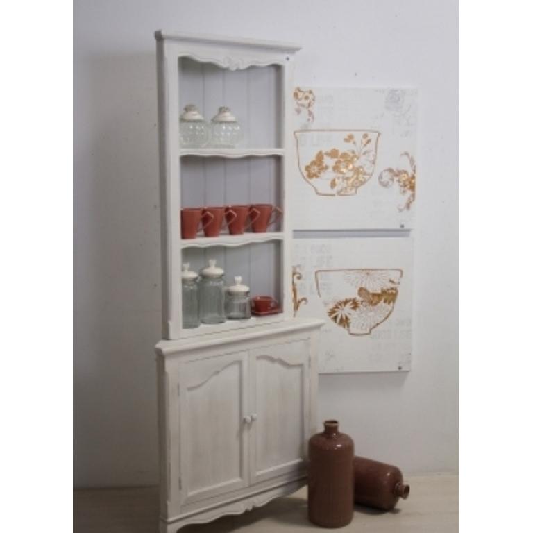 Angoliera legno bianca provenzale mobili provenzali on line - Mobili legno ikea ...