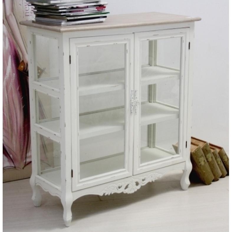Vetrinetta legno shabby chic mobili provenzali on line for Vetrinette shabby ebay