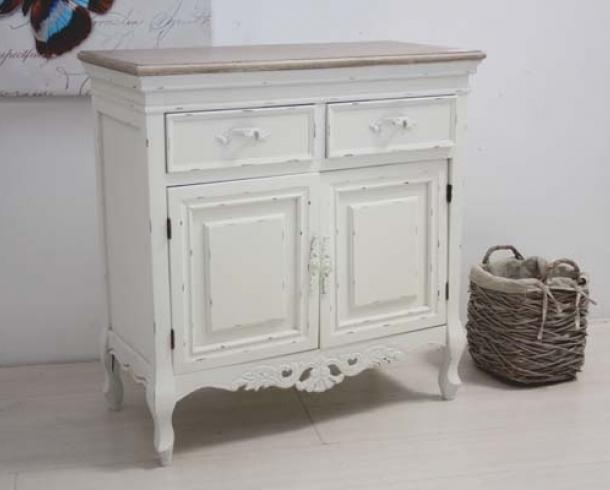 Credenza legno shabby chic mobili provenzali on line for Credenza shabby chic online