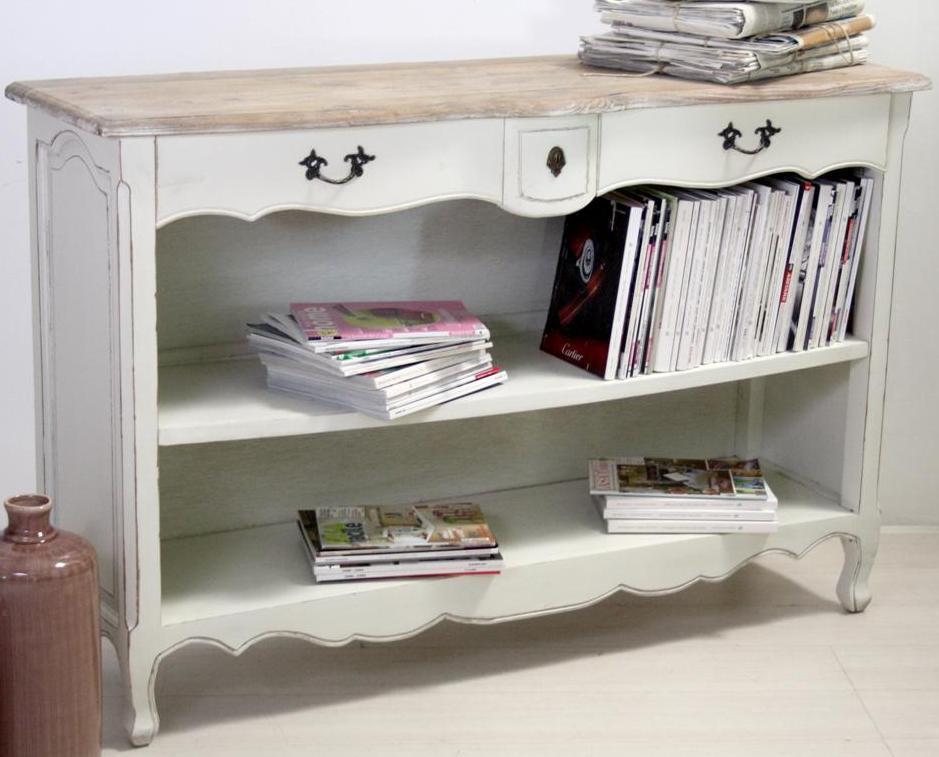 Consolle libreria legno shabby chic mobili provenzali on - Siti mobili on line ...
