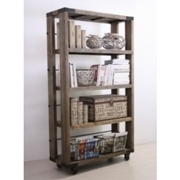 Libreria legno massello Country Chic