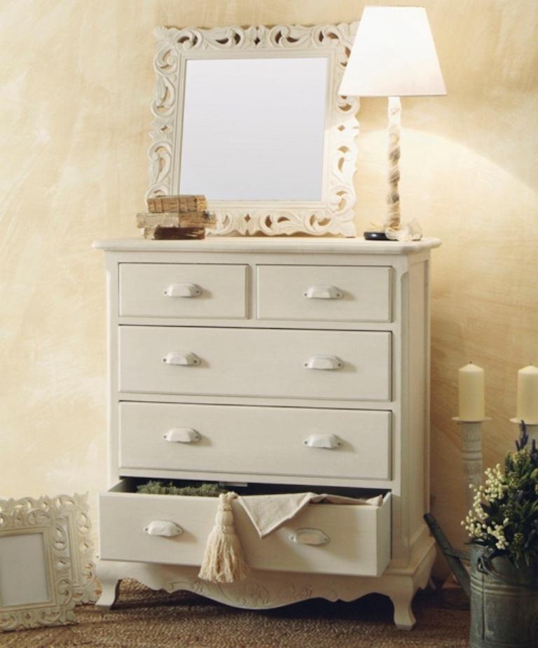 cassettiera legno bianco provenzale mobili provenzali on