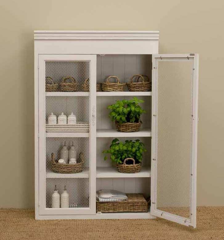 Vetrina legno bianco provenzale mobili provenzali on line for Paulownia legno mobili