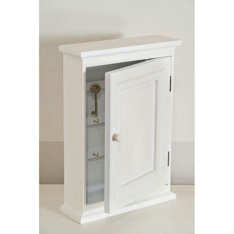 Portachiavi provenzale legno bianco mobili provenzali on - Siti mobili on line ...