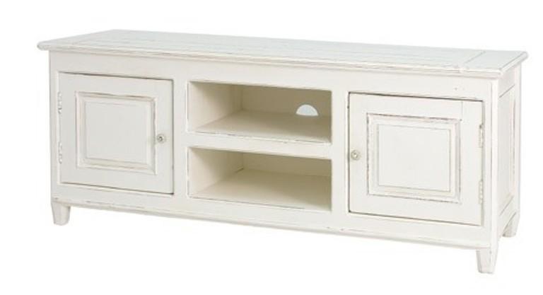 Bb Mobili Soggiorno : Porta tv legno bianco shabby chic mobili provenzali on line