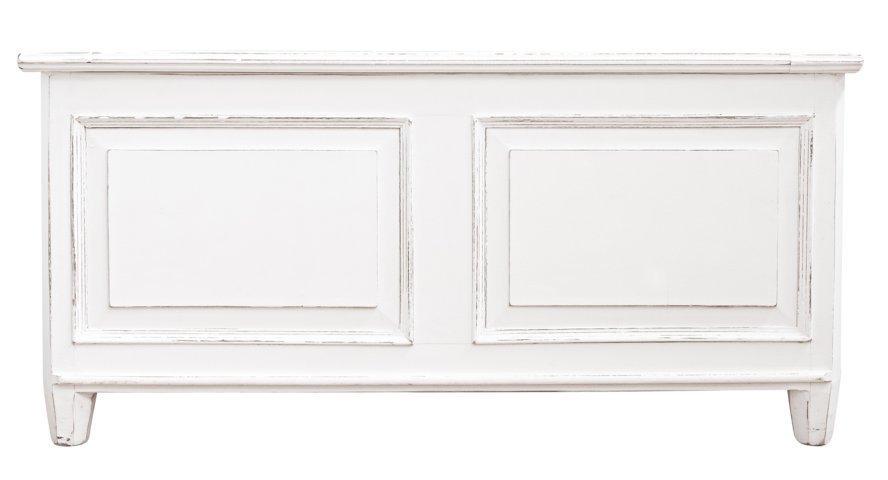Cassapanca legno bianca shabby chic mobili provenzali on for Cassapanca shabby chic