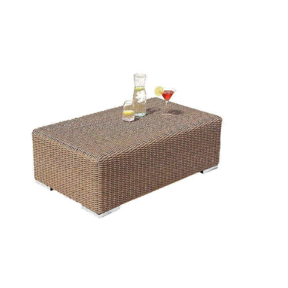 Tavolino da esterno rattan sintetico mobili provenzali on line - Mobili rattan sintetico ...