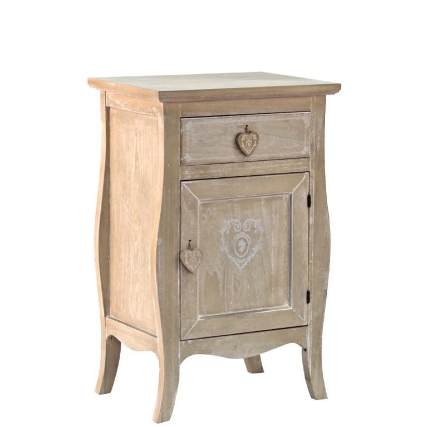 Mobiletto legno naturale provenzale mobili provenzali on line - Mobili legno naturale ...