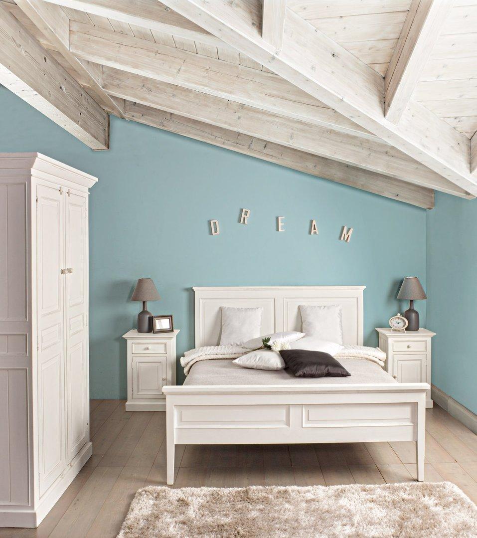 Trendy armadio camera da letto provenzale letto provenzale for Mobili di design per camere da letto interne