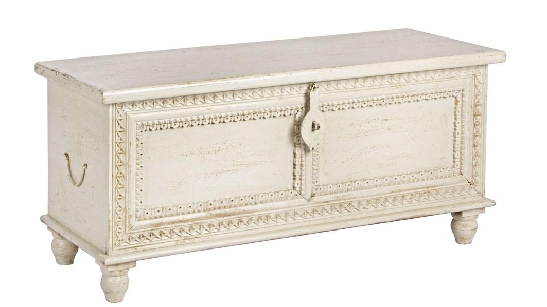 Cassapanca bianca shabby chic mobili provenzali on line for Cassapanche in legno prezzi