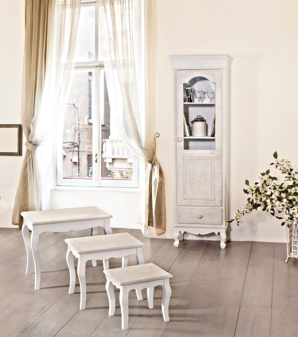 Consolle bianca provenzale mobili provenzali on line - Provenzale mobili ...