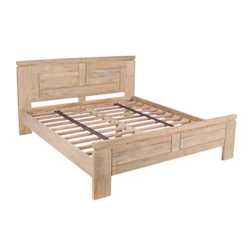 Letti country chic legno massello teak prezzi e offerte on line - Divano letto stile country ...