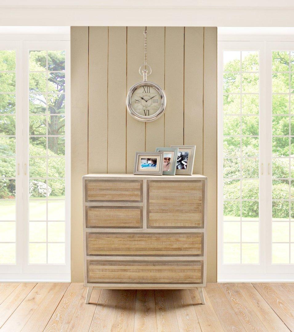 Cassettiera legno country chic mobili provenzali on line for Cassettiera legno