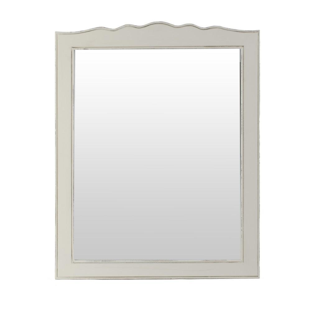 Specchio bianco provenzale mobili provenzali on line - Specchio bianco ...