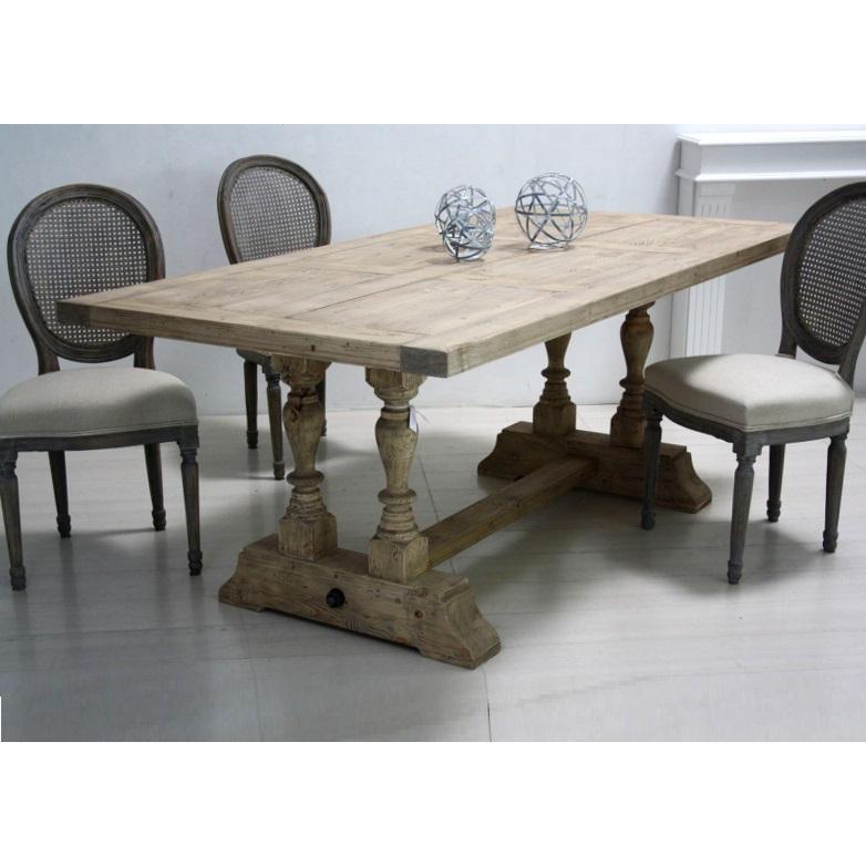 Tavolo legno naturale shabby Mobili Provenzali e Shabby On Line