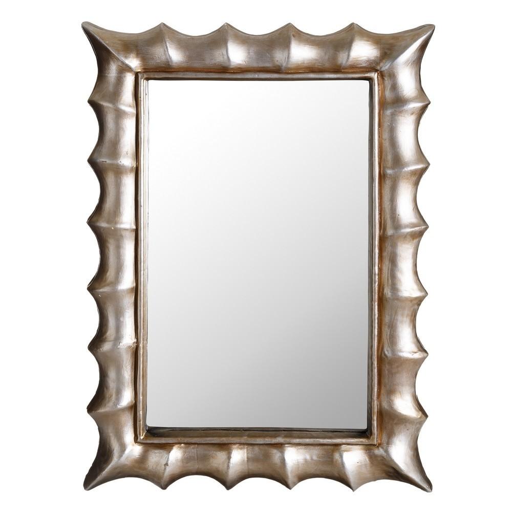 Specchio moderno argento mobili provenzali on line for Specchio argento moderno