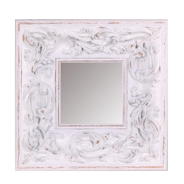 Specchio parete shabby bianco - Mobili Provenzali On Line
