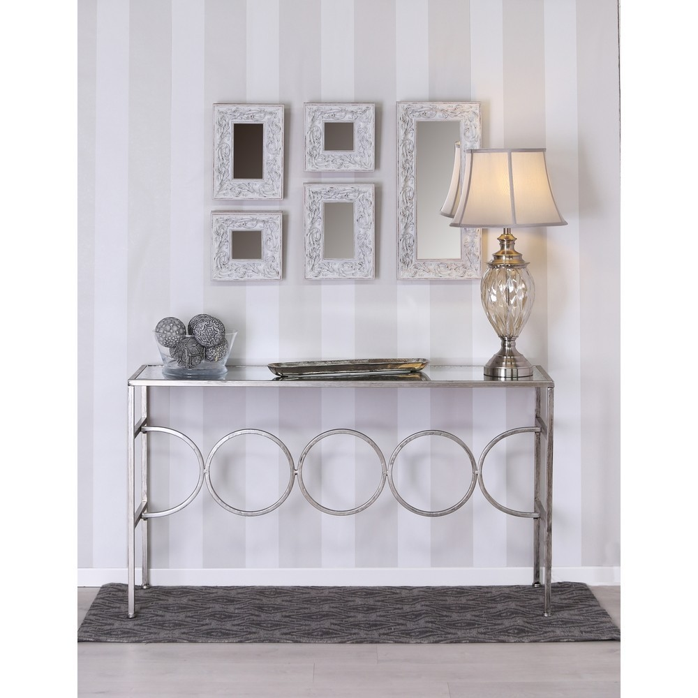 Specchio parete shabby bianco mobili provenzali on line - Specchio bianco ...