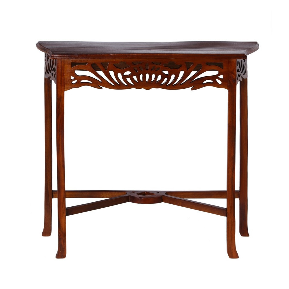 Consolle legno massello mobili provenzali on line for Consolle legno