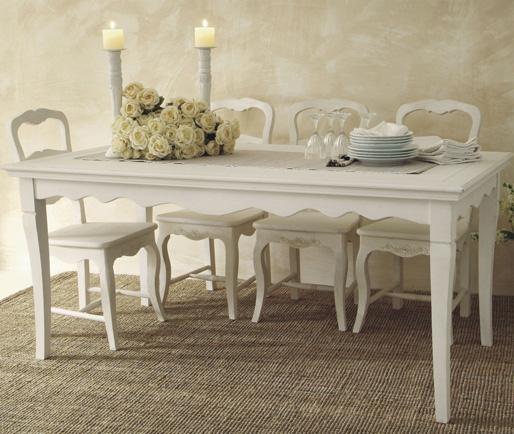 Tavolo provenzale rettangolare mobili provenzali on line for Arredamento francese on line