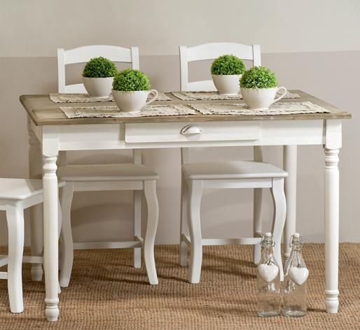 Tavolo legno provenzale mobili provenzali shabby chic on for Mobili buffet bassi