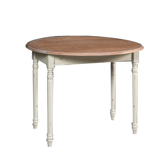 Tavolo tondo decapato mobili provenzali on line - Dimensioni tavolo tondo 4 persone ...
