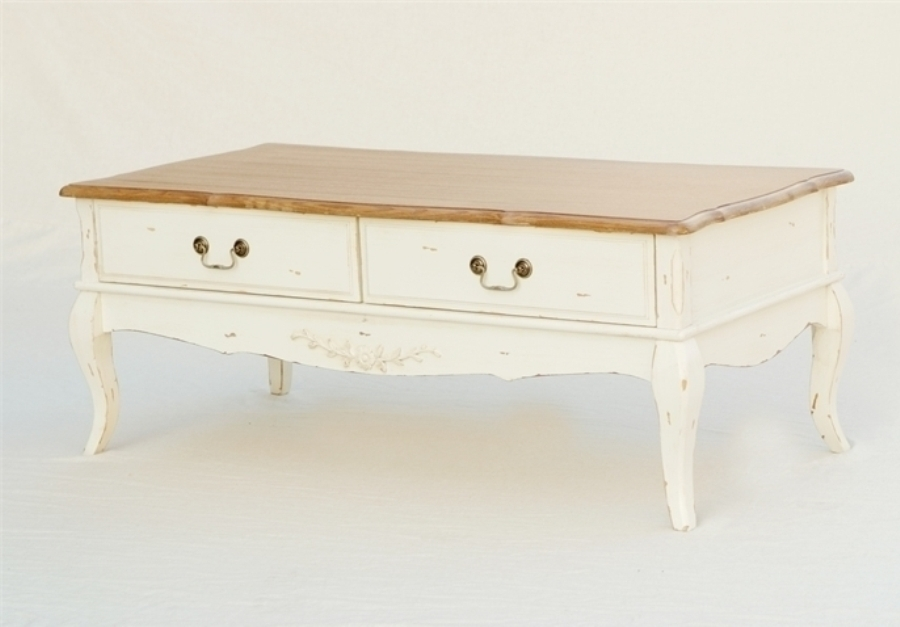 Tavolino Salotto Provenzale.Tavolino Shabby Chic Provenzale