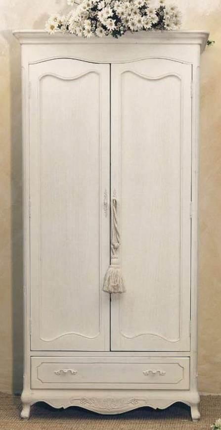 Armadio legno bianco Provenzale - Mobili Provenzali Shabby ...