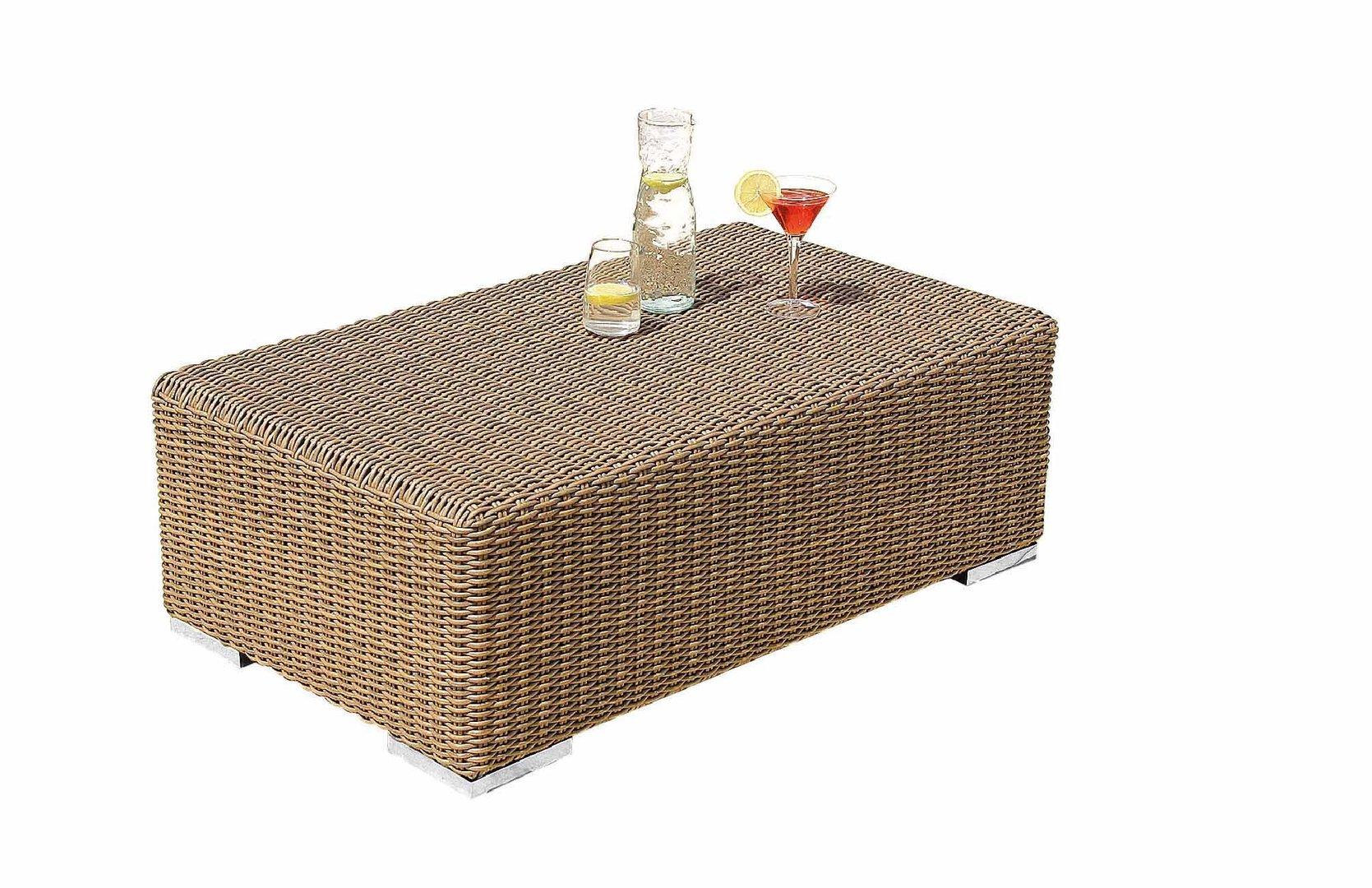 Tavolino da esterno rattan sintetico mobili provenzali on line - Mobili da giardino on line ...
