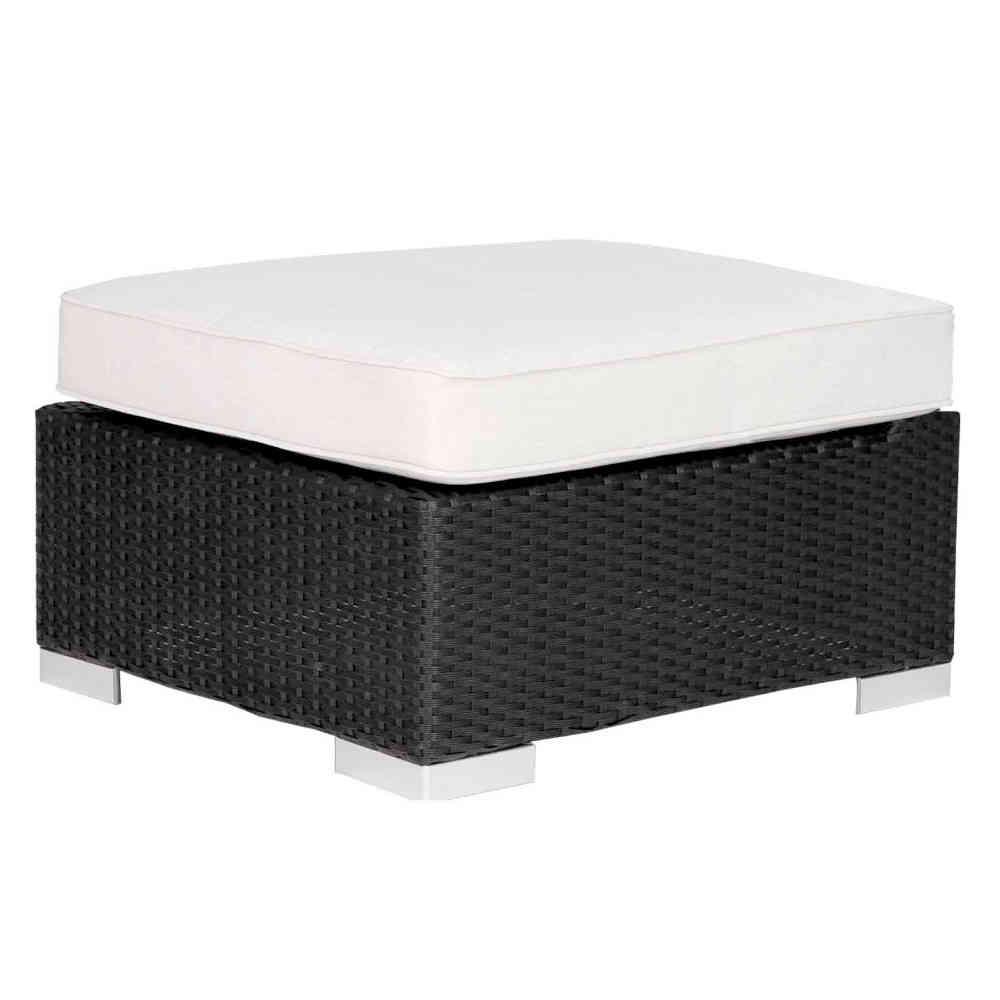 Tavolino Rattan Da Giardino.Pouff Tavolino Rattan Sintetico Mobili Provenzali On Line