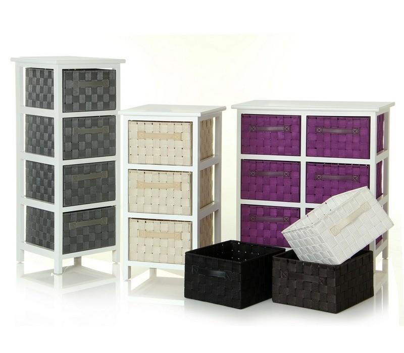 Cassettiera bianca provenzale mobili provenzali on line for Mobiletti bassi bagno