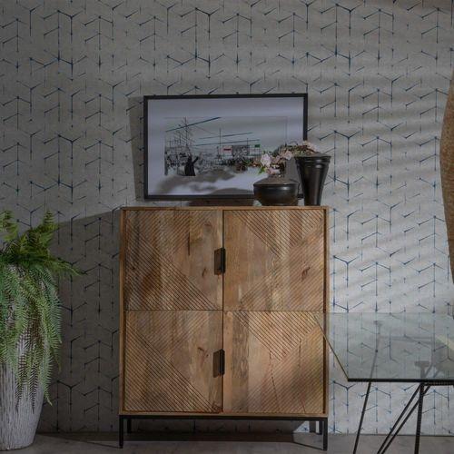 Armadio 4 ante legno di Mango - Armadi provenzali Shabby ...